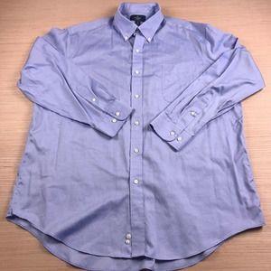 Buttoned Down Non Iron Supima  Button Down Shirt